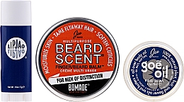 Voňavky, Parfémy, kozmetika Sada - Jao Brand Suave Salve Pak (beard/balm/18g + b/oil/6.5gr + lip/balm/5gr)