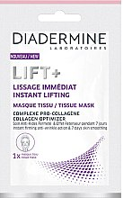 Voňavky, Parfémy, kozmetika Textilná maska na tvár - Diadermine Lift+ Instant Lifting Tissue Mask