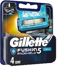 Voňavky, Parfémy, kozmetika Výmenná kazeta pre holenie - Gillette Fusion Proshield Chill