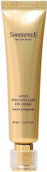 Výživný očný krém s hydratačným účinkom - Shangpree Gold Solution Care Eye Cream — Obrázky N1