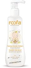 Voňavky, Parfémy, kozmetika Lotion na telo s medom - Roofa Honey Body Lotion