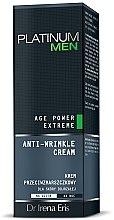 Voňavky, Parfémy, kozmetika Krém proti vráskam - Dr Irena Eris Platinum Men Age Power Extreme Anti-wrinkle Cream