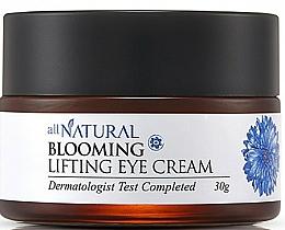 Voňavky, Parfémy, kozmetika Vysoko intenzívny zosvetľujúci očný krém liffting účinkom - All Natural Blooming Lifting Eye Cream