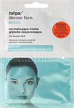Voňavky, Parfémy, kozmetika Hĺbkovo čistiaca maska - Tolpa Dermo Face Sebio Normalizing Deep Cleansing Mask
