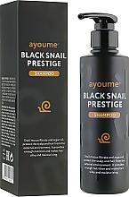 Voňavky, Parfémy, kozmetika Šampón na vlasy so slimačím mucínom - Ayoume Black Snail Prestige Shampoo