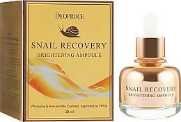 Voňavky, Parfémy, kozmetika Rozjasňujúce sérum na tvár - Deoproce Snail Recovery Brightening Ampoule
