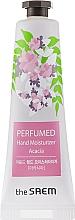 """Voňavky, Parfémy, kozmetika Parfumovaný hydratačný krém na ruky """"Akácia"""" - The Saem Perfumed Acacia Hand Moisturizer"""