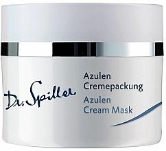 Voňavky, Parfémy, kozmetika Krémová maska pre citlivú pokožku s azulénom - Dr. Spiller Azulen Cream Mask