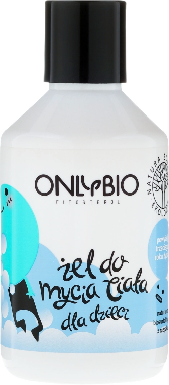 Sprchový gél detský - Only Bio — Obrázky N1