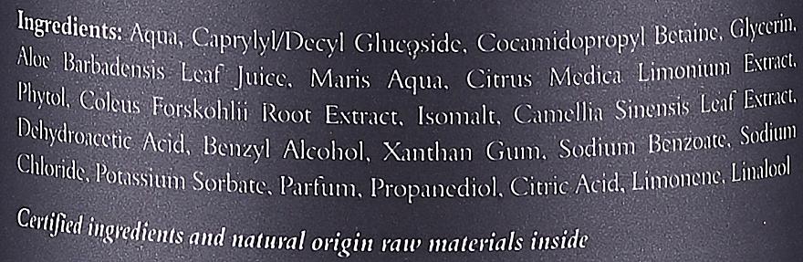 Osviežujúci sprchový gél - Clochee Men Refreshing Cleansing Body Gel — Obrázky N3