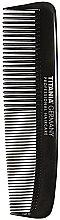 Voňavky, Parfémy, kozmetika Vreckový hrebeň pre mužov, 12,5 cm, čierny - Titania Havannah