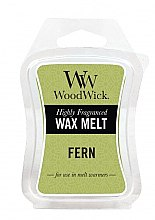 Voňavky, Parfémy, kozmetika Voňavý vosk - WoodWick Wax Melt Fern