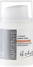 Voňavky, Parfémy, kozmetika Výživný denný krém s vitamínom E. - Le Chaton Argente Nourishing Day Cream with Vitamin E