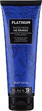 Voňavky, Parfémy, kozmetika Maska na vlasy s rastlinnými výťažkami z mandlí na neutralizáciu oranžových a medených odtieňov - Black Professional Line Platinum No Orange Mask With Organic Almond Extract