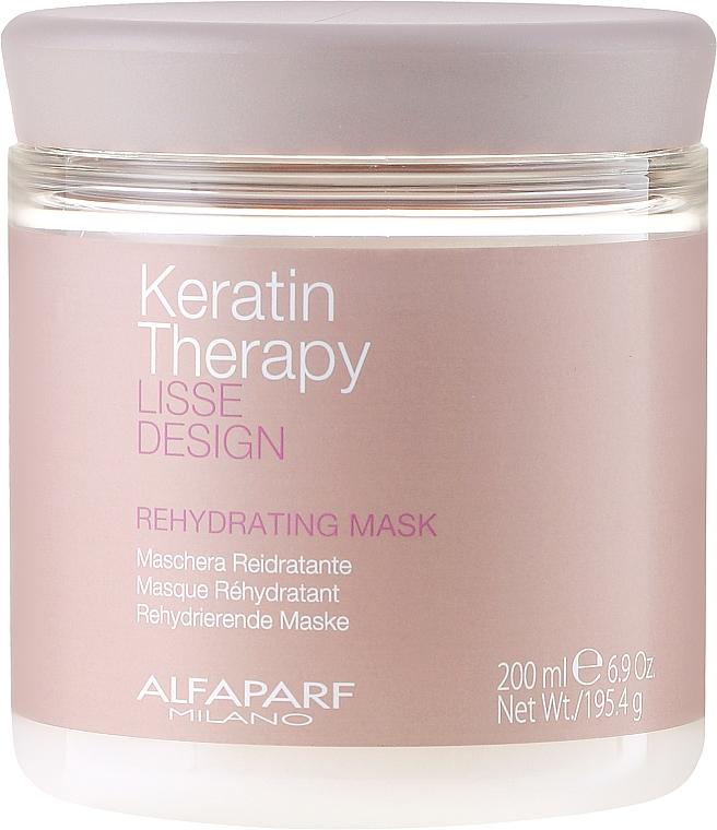 Vlasová maska, hydratačná - Alfaparf Lisse Design Keratin Therapy Rehydrating Mask