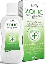 Voňavky, Parfémy, kozmetika Čistiace mlieko na telo - Dr.EA Zolic Body Cleansing Milk