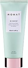 Voňavky, Parfémy, kozmetika Chladivá maska na tvár s aktívnym uhlím - Monat Be Purified Cold Charcoal Mask