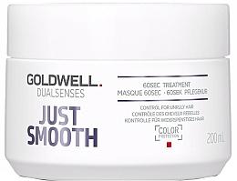 Voňavky, Parfémy, kozmetika Intenzívna starostlivosť pre nepoddajne vlasy - Goldwell Dualsenses Just Smooth 60sec Treatment