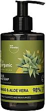 Voňavky, Parfémy, kozmetika Tekuté mydlo na ruky Mango a aloe - Be Organic Liquid Hand Soap Mango & Aloes