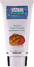 """Voňavky, Parfémy, kozmetika Krém na nohy """"Mango"""" - Saito Spa Active Foot Cream Mango"""