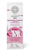 """Voňavky, Parfémy, kozmetika Detská zubná pasta """"Arktická malina"""" - Natura Siberica Little Siberica"""