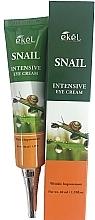 Voňavky, Parfémy, kozmetika Očný krém so slimačím mucínom - Ekel Snail Intensive Eye Cream