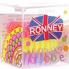 Voňavky, Parfémy, kozmetika Gumičky do vlasov, 3,5 cm - Ronney Professional S6 MAT