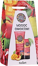 Voňavky, Parfémy, kozmetika Sada - Farmona Tutti Frutti Peach & Mango (balm/200ml + h/cr/75ml)