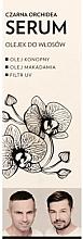 """Voňavky, Parfémy, kozmetika Olejové sérum na vlasy """"Čierna orchidea"""" - WS Academy Black Orchid Serum Oil"""