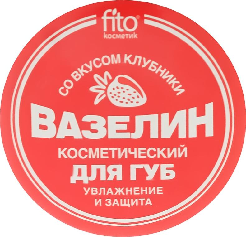 """Vazelínová kozmetika na pery """"Hydratácia a ochrana"""" s jahodovou chuťou - Fito Kozmetic"""
