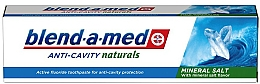 Voňavky, Parfémy, kozmetika Zubná pasta Proti zubnému kazu - Blend-a-Med Anti-Cavity Naturals Mineral Salt