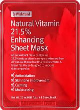 Voňavky, Parfémy, kozmetika Vitamínová antioxidačná maska na tvár - By Wishtrend Natural Vitamin 21.5% Enhancing Sheet Mask