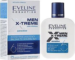 Voňavky, Parfémy, kozmetika Upokojujúci balzam po holení 6v1 - Eveline Cosmetics Men Extreme Sensitive