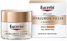 Voňavky, Parfémy, kozmetika Protistarnúci denný krém pre všetky typy pleti - Eucerin Anti-Age Elasticity+Filler Day Cream SPF 30