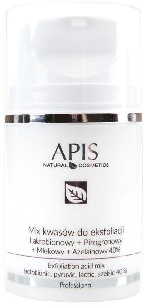 Zmes kyselín na peeling - APIS Professional Lacticion + Pirogron + Milk + Azelaine 40%