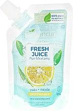 "Micelárna tekutina ""Yuzu"" - Bielenda Fresh Juice Detoxifying Face Micellar Water Yuzu — Obrázky N3"