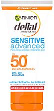 Voňavky, Parfémy, kozmetika Ultrajemný opaľovací krém na tvár SPF 50 - Garnier Ambre Solaire Sensitive Sun Cream SPF50+