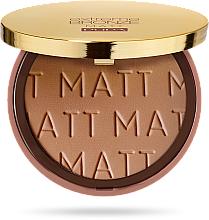 Voňavky, Parfémy, kozmetika Bronzujúci púder - Pupa Extreme Bronze Matt