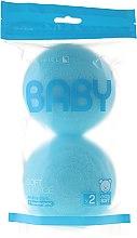Voňavky, Parfémy, kozmetika Sada špongii, 2ks, modré - Suavipiel Baby Soft Sponge