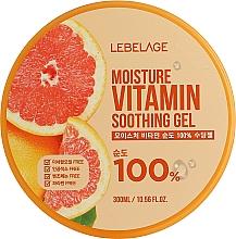 Voňavky, Parfémy, kozmetika Hydratačný gél s grapefruitom  - Lebelage Moisture Vitamin 100% Soothing Gel