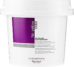 Voňavky, Parfémy, kozmetika Rozjasňujúca pasta na vlasy - Fanola No Yellow Clay Lightner