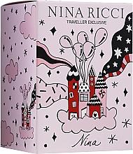 Voňavky, Parfémy, kozmetika Nina Ricci Nina - Sada (edt/80ml + edt/roll/10ml)
