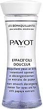 Voňavky, Parfémy, kozmetika Dvojzložkový odličovač na očné okolie a pery s extraktom z papáje - Payot Les Demaquillantes Efface Cils Douceur Instant Smooth Decongesting Cleanser