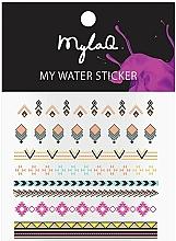 "Voňavky, Parfémy, kozmetika Nálepky na nechty ""Azték"" - MylaQ My Aztek Sticker"