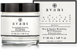 Voňavky, Parfémy, kozmetika Regeneračný hydratačný krém - Avant Rose & Squalane Revitalising DUO Moisturiser