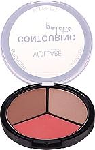 Voňavky, Parfémy, kozmetika Kontúrovacia paleta na tvár - Vollare Cosmetics Contouring Palette Bronzer, Shimmer, Blusher