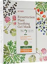 Voňavky, Parfémy, kozmetika Hydratačná maska na tvár pre matnú a unavenú pokožku - Petitfee&Koelf Resurrection Plant Soothing Gel Mask