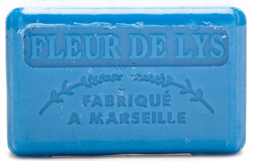 "Marseillské mydlo ""Ľalia"" - Foufour Savonnette Marseillaise Fleur de Lys"