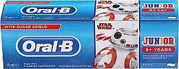 """Voňavky, Parfémy, kozmetika Detská zubná pasta """"Star Wars"""", od 6 rokov, verný priateľ - Oral-B Junior Star Wars Toothpaste"""