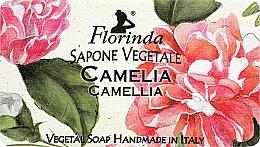 """Voňavky, Parfémy, kozmetika Prírodné mydlo """"Kamélia"""" - Florinda Sapone Vegetale Camellia"""